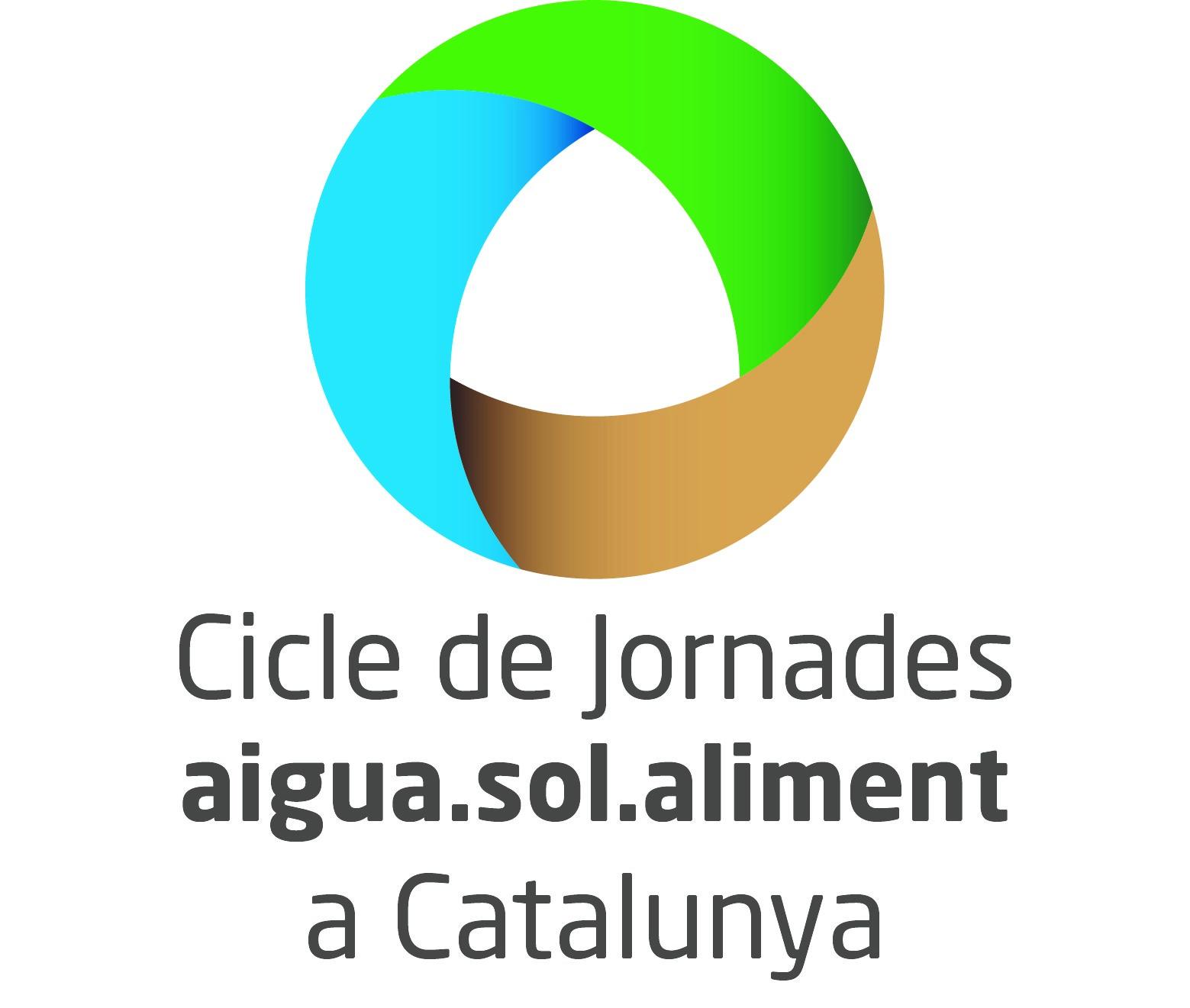 Logo Jornades Aigua, Sòl i Aliments a Catalunya